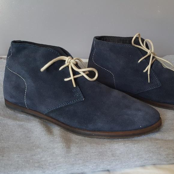 Ben Sherman Other - Ben Sherman Mens Suede Chukka Boots - Navy